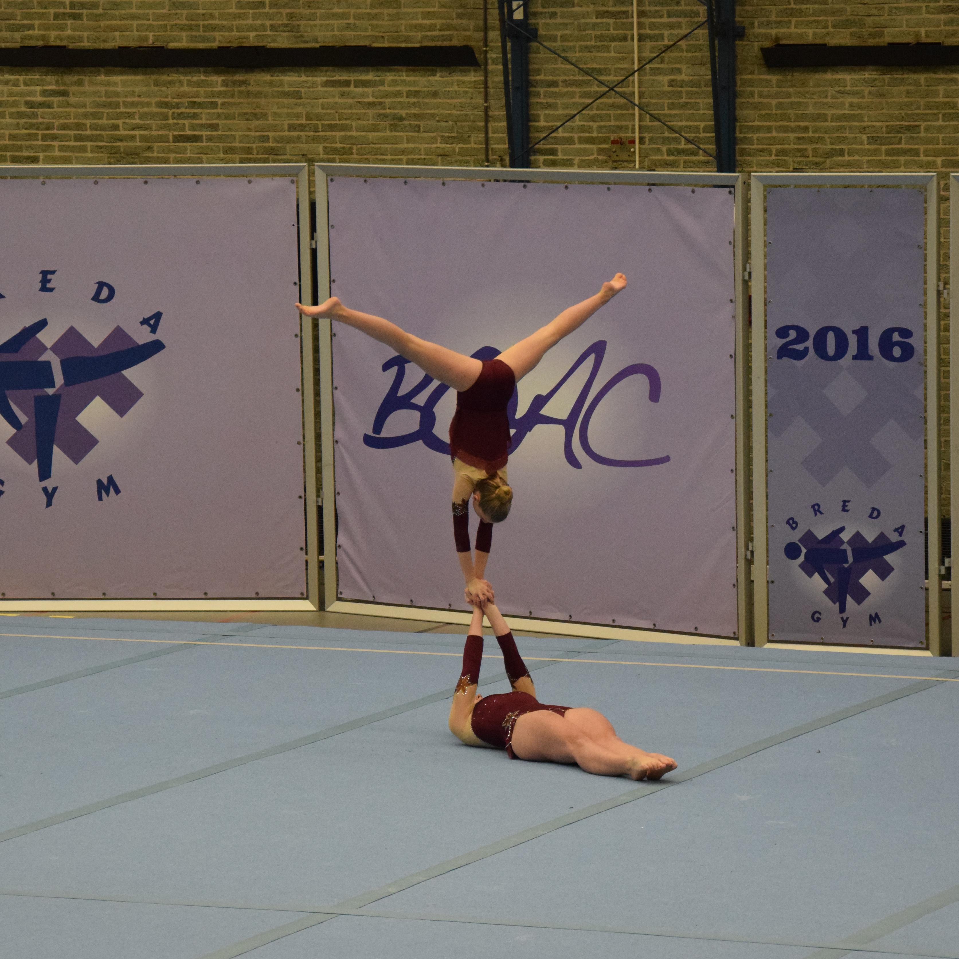 Opening acro seizoen bij BOAC met 17 medailles