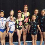 Halve finale C/D/E acro met 3 zilveren medailles