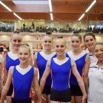 Acro WK kwalificatie in de Eminent turnhal in Naaldwijk