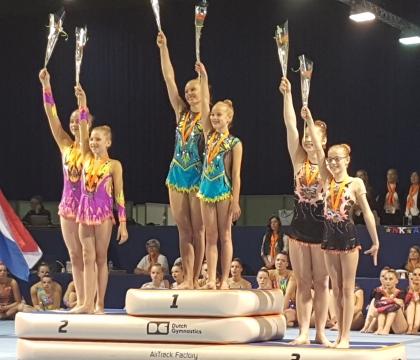 4 medailles op het NK en een team naar EK in Israël