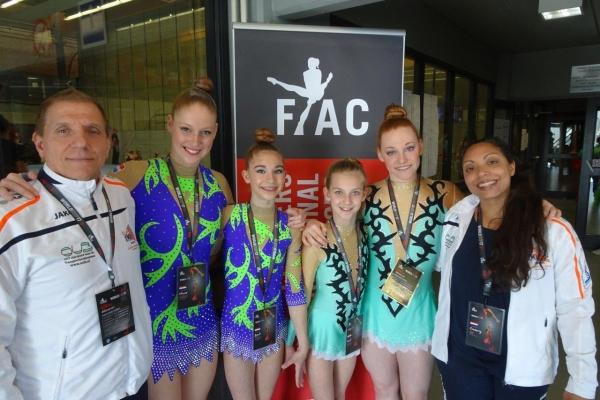 FIAC groepsfoto