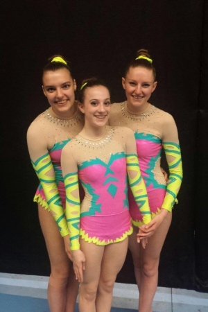 trio Leslie, Rozanna en Mandana